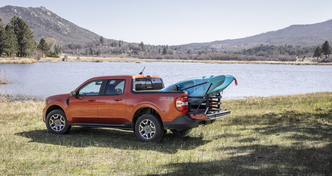 The Ford Maverick Might Be the Compact (Hybrid) Truck We've Asked For