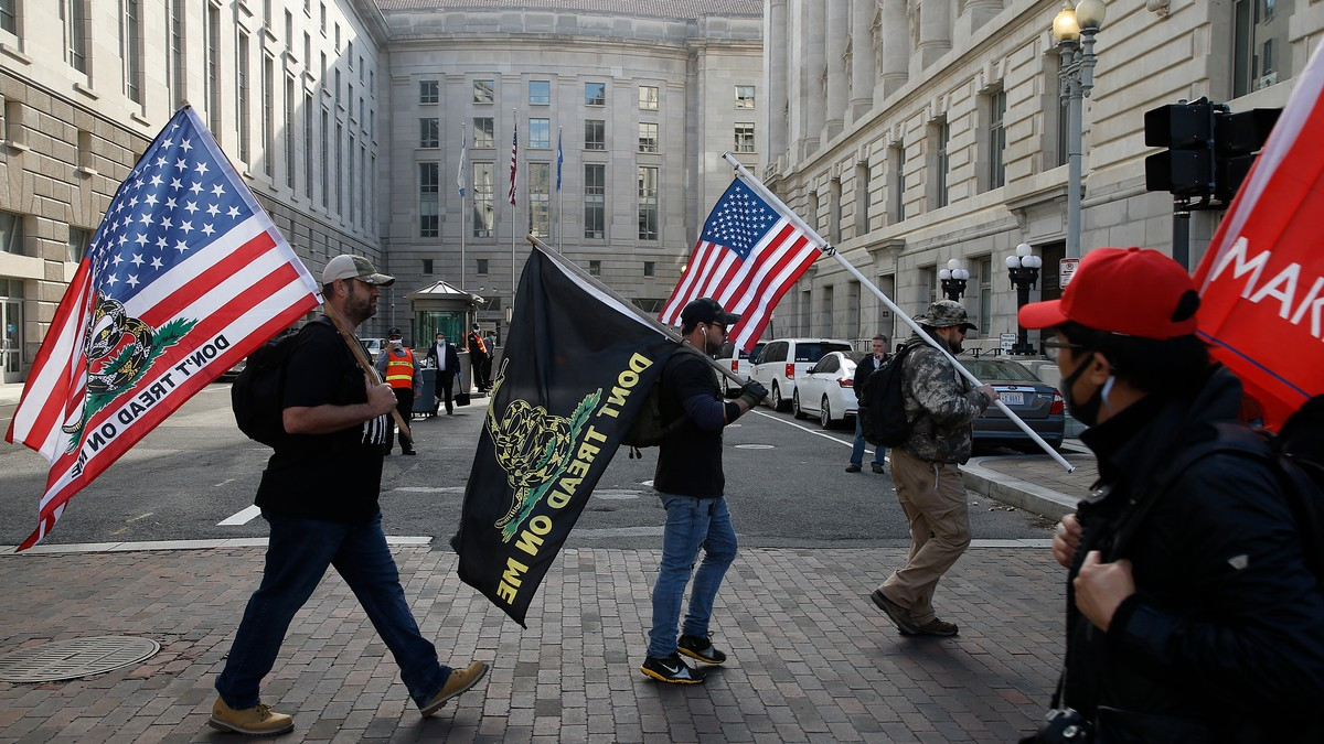 Trump Is Only Encouraging the Violent 'Stop the Steal' Protests