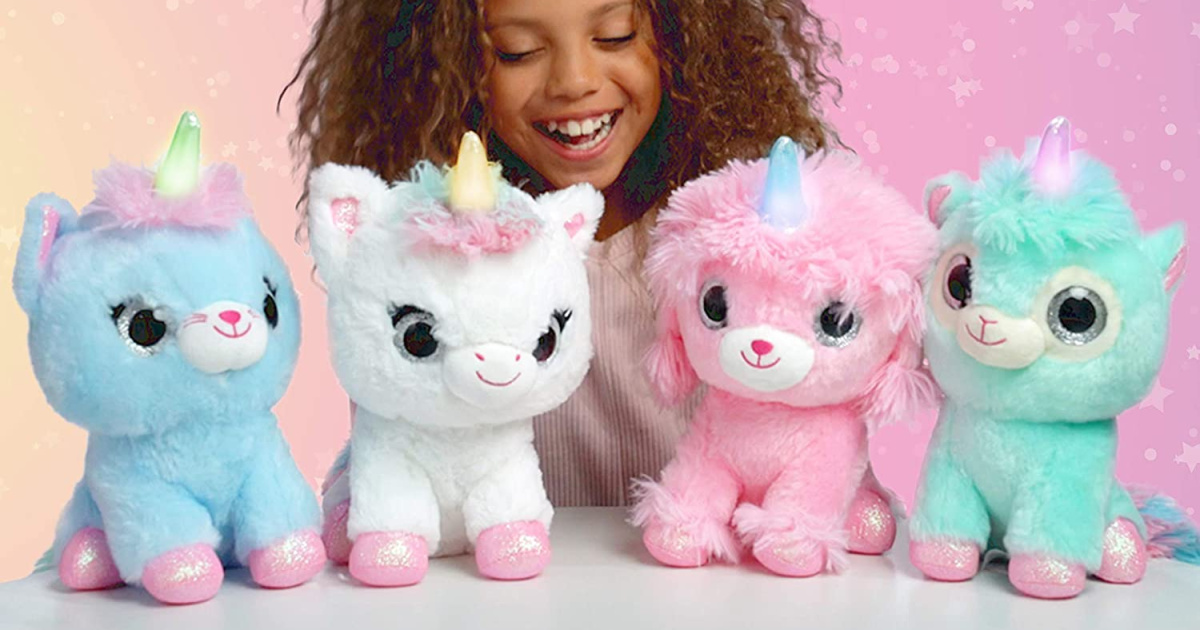 WowWee Ploosh Llamacorn w/ Light-Up Horn Only $6.50 on Amazon (Regularly $15)