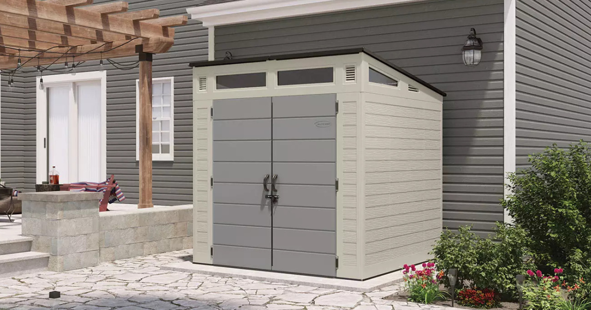 Suncast 7x7 Resin Storage Shed Only $749 Shipped on SamsClub.com