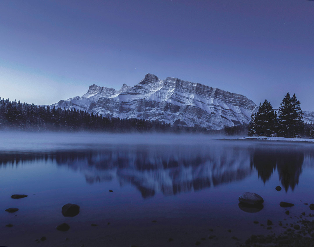Mount Rundle, Banff NP, Alberta, Canada by Mathieu Rossi