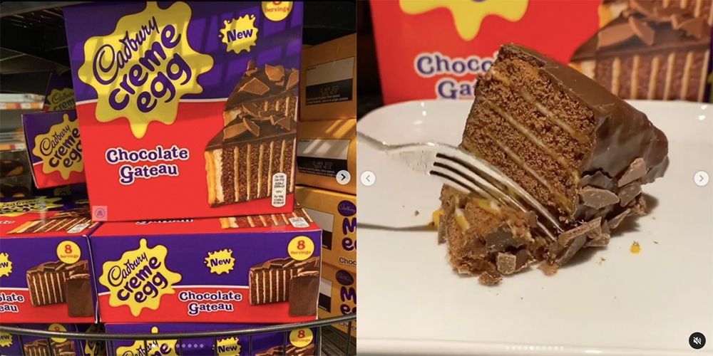 Creme Egg Cake Exists And There's So Much Cadbury's Chocolate In It