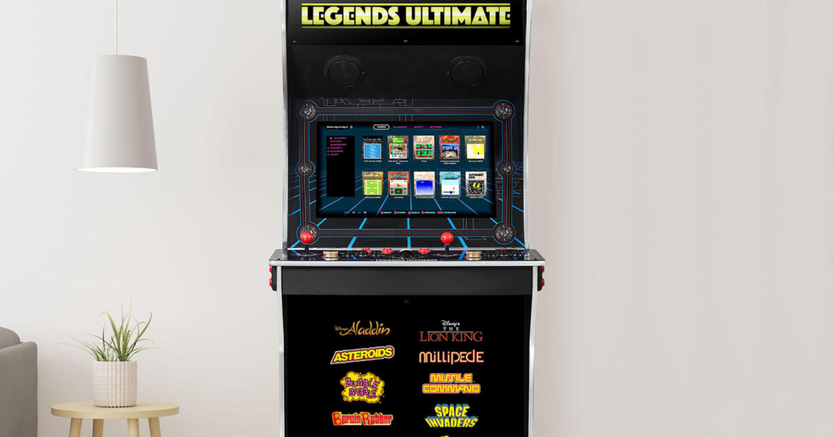 Legends Ultimate Home Arcade Only $499 Shipped on Walmart.com