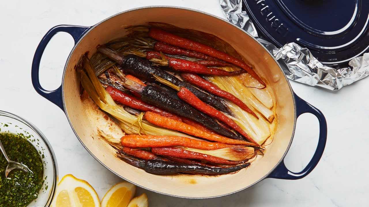 How to Pot-Roast Carrots and Other Vegetables