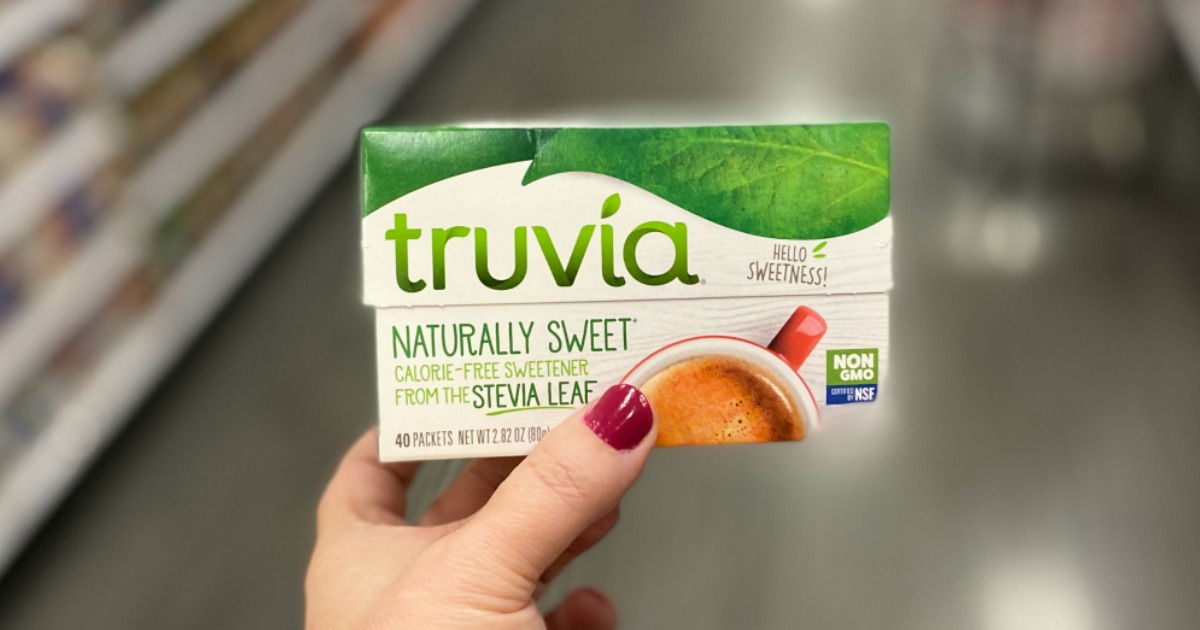 FREE Truvia Natural Sweetener Packets 40-Count After Cash Back at Target