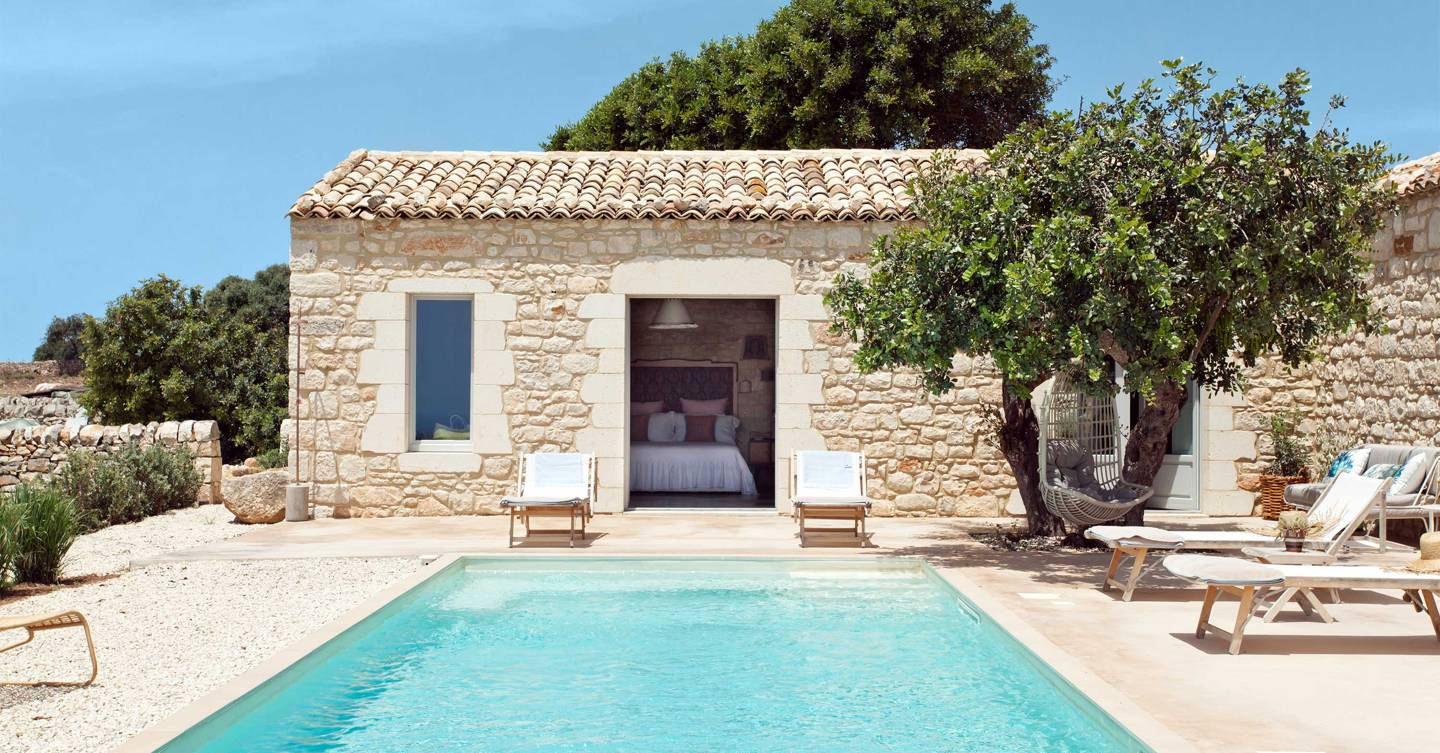 Win a seven-night stay for four in a beautiful villa on the south coast of Sicily