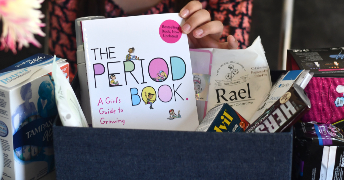 How to Make a DIY First Period Kit for Home & School