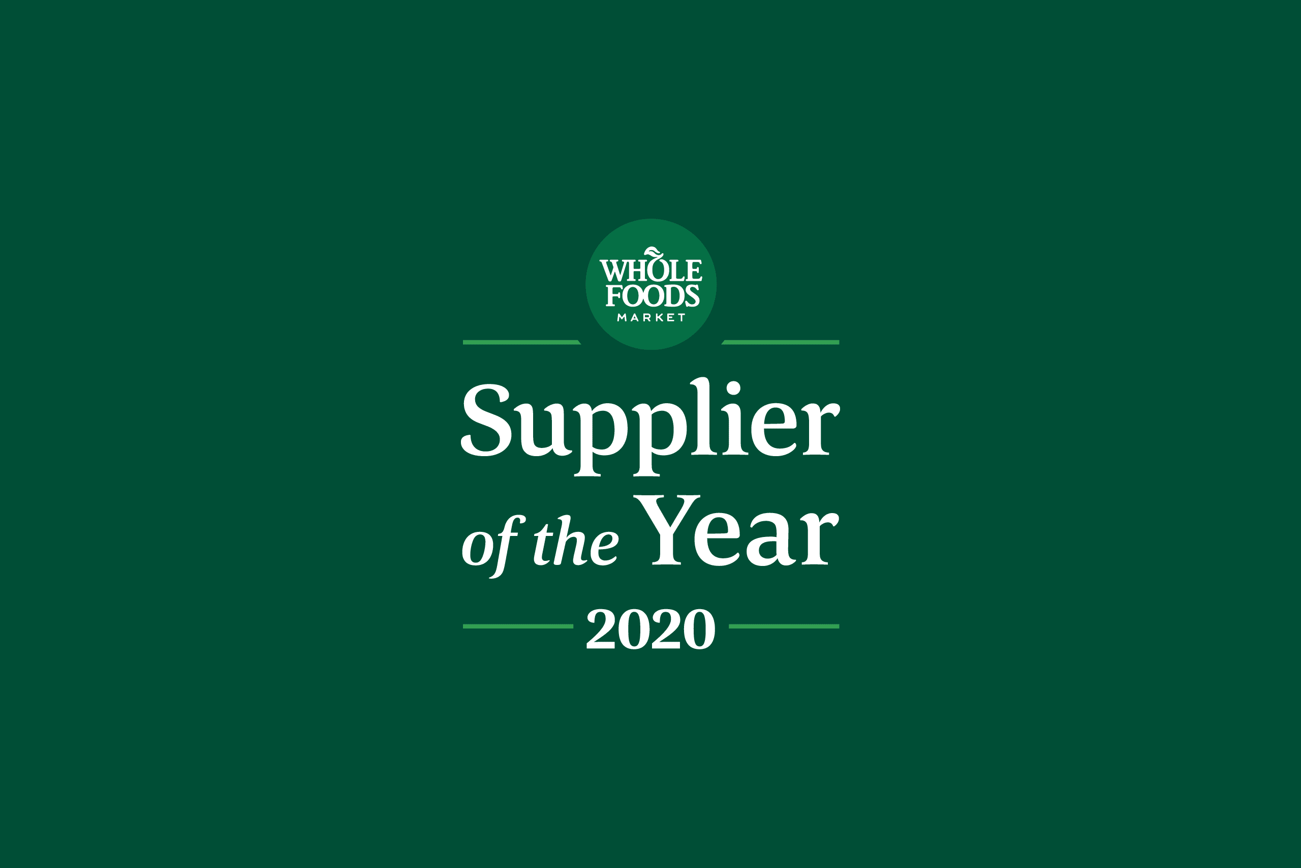 Whole Foods Market announces winners of ninth annual Supplier Awards