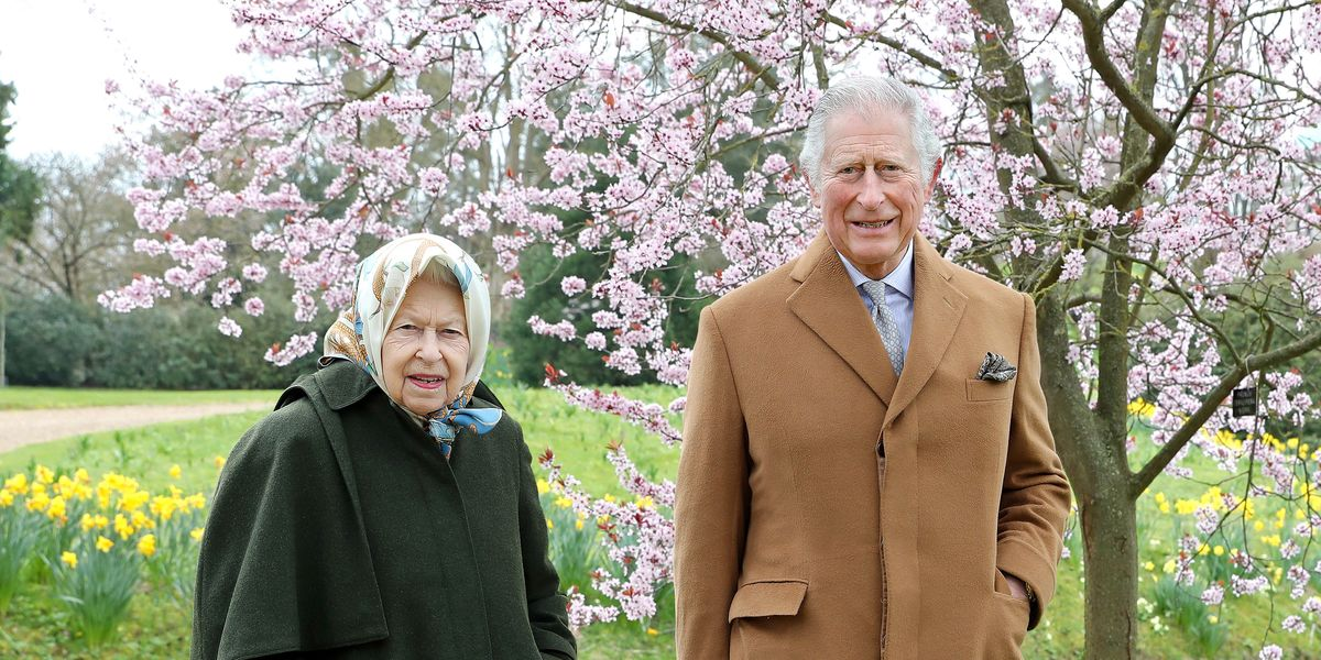 New Easter Pictures of Queen Elizabeth, Prince Charles in Windsor