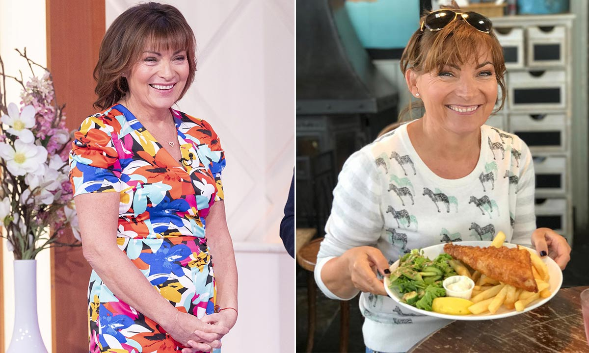 Lorraine Kelly's daily diet: the TV star's breakfast, lunch and dinner revealed