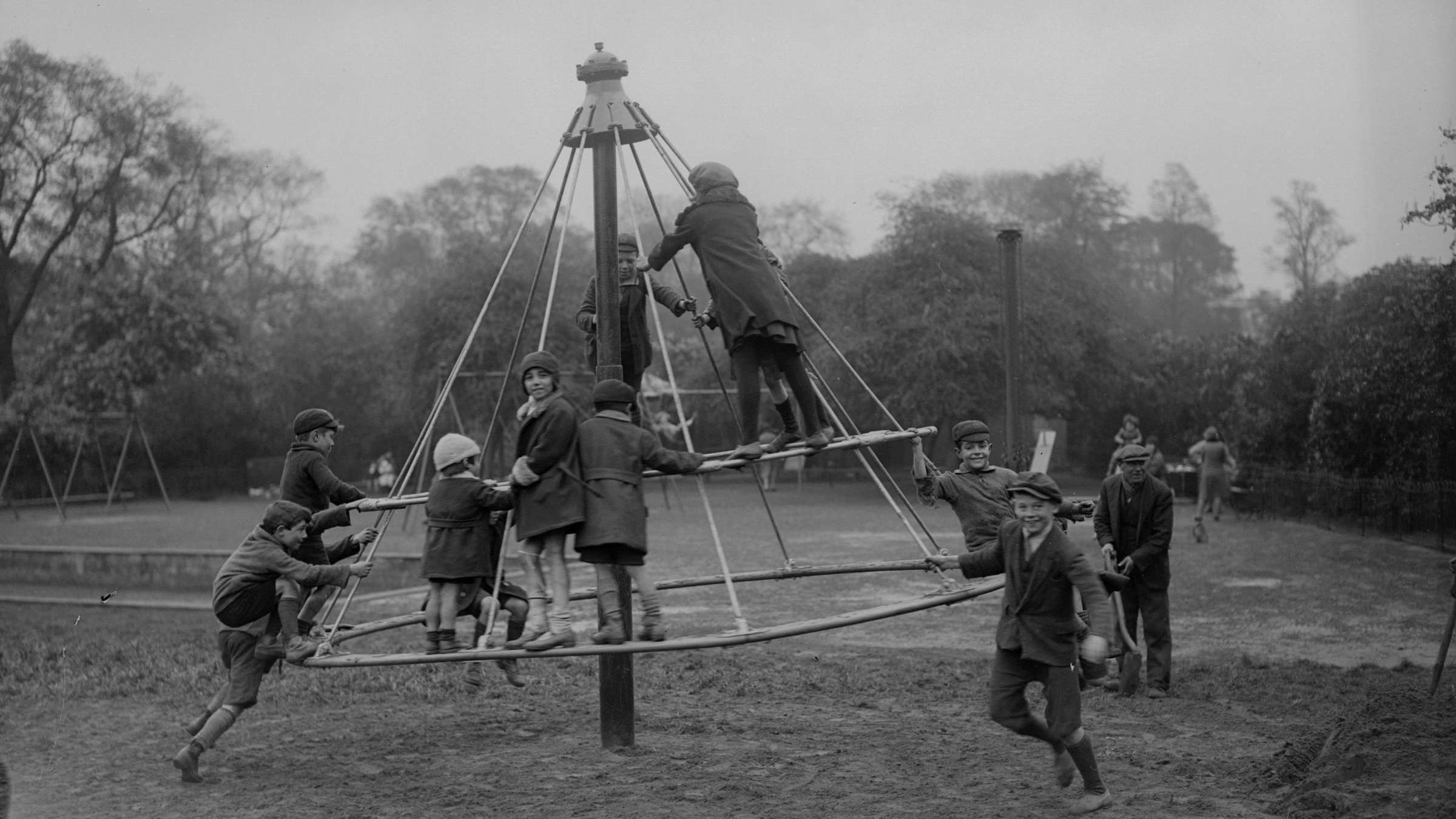 10 Pieces of Playground Equipment that Nearly Killed Your Grandparents