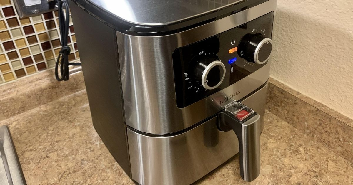 Insignia 5-Quart Air Fryer Only $39.99 Shipped on BestBuy.com (Regularly $100)