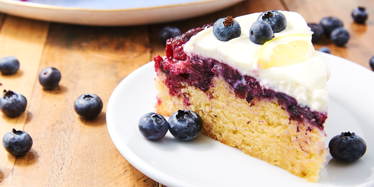 Best Blueberry-Lemon Upside-Down Cake