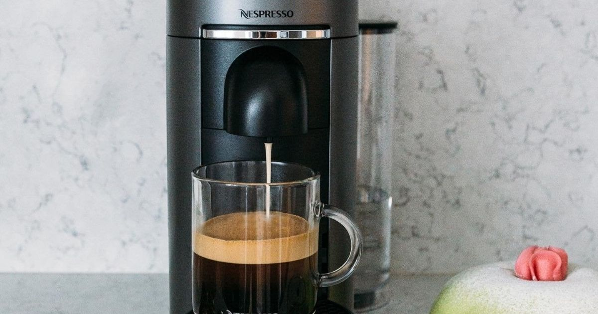 Nespresso Coffee & Espresso Maker w/ Frother Only $124.99 Shipped on Macy's (Regularly $288)