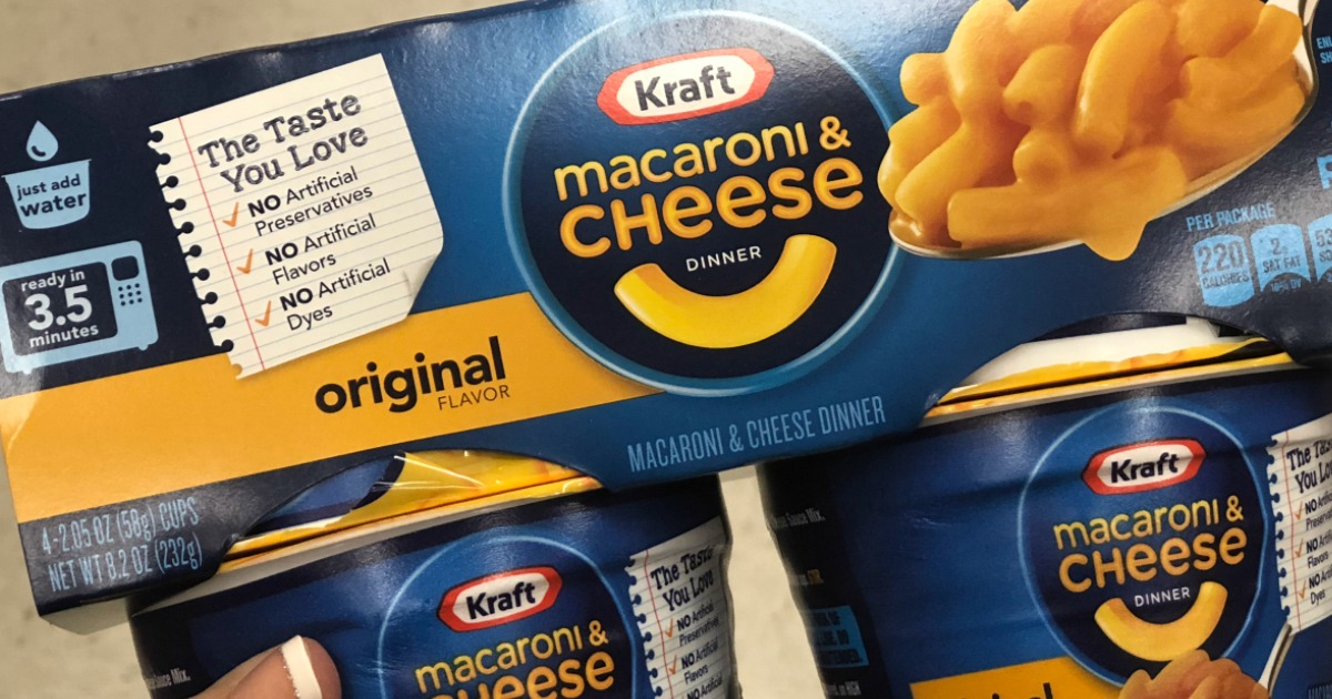 Kraft Easy Mac Cups 10-Pack Only $5 Shipped on Amazon