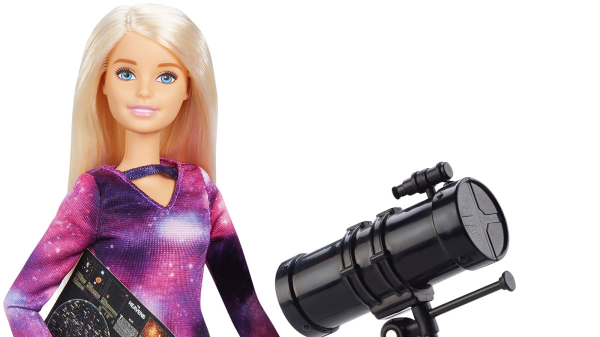 Barbie Turns 60, Becomes an Astrophysicist