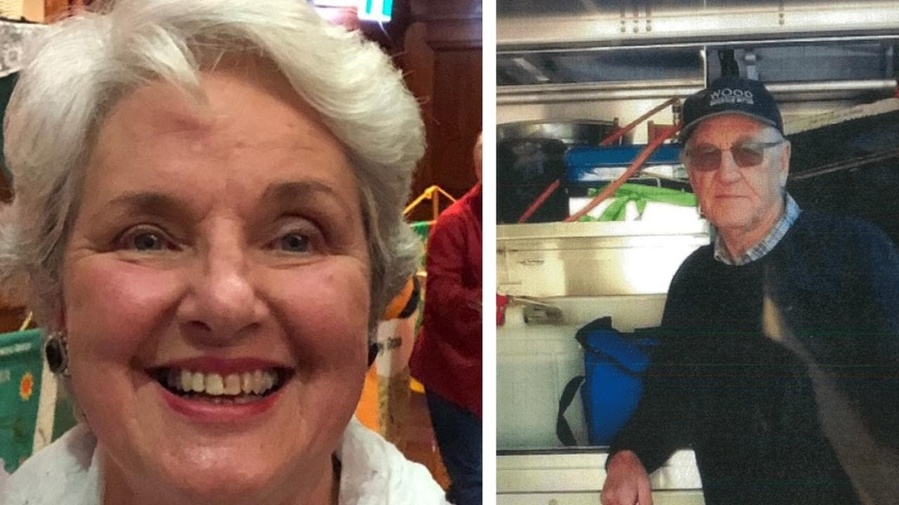 Russell Hill and Carol Clay: Police move search for missing campers to Mount Hotham