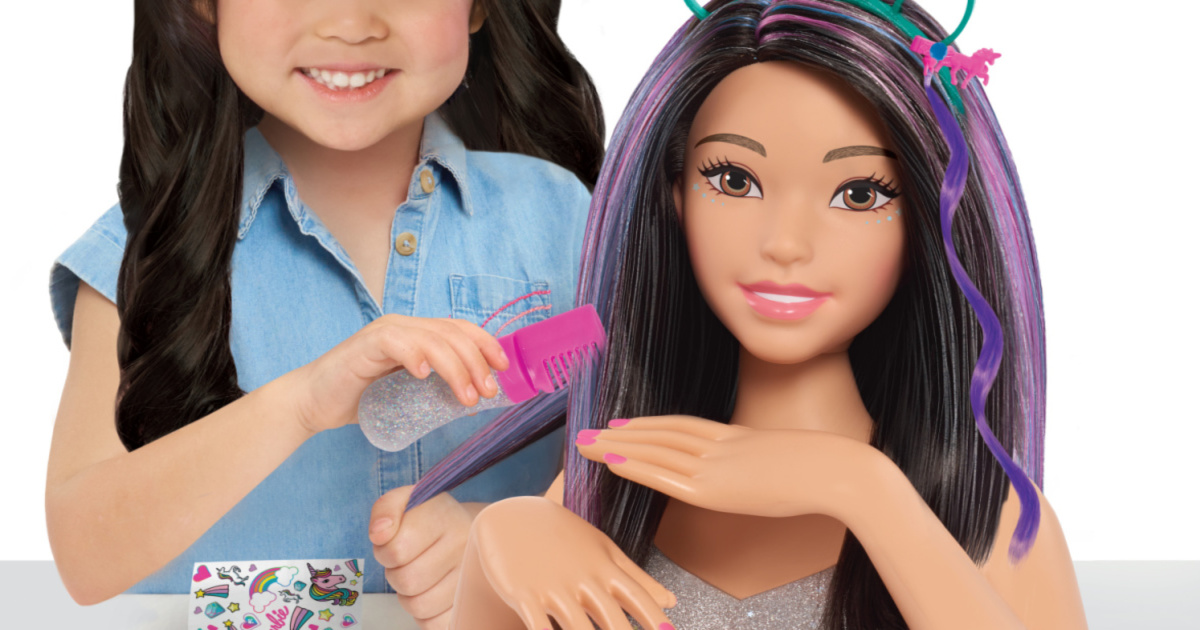 Barbie 20-Piece Styling Head Only $11.93 on Walmart.com (Regularly $30)