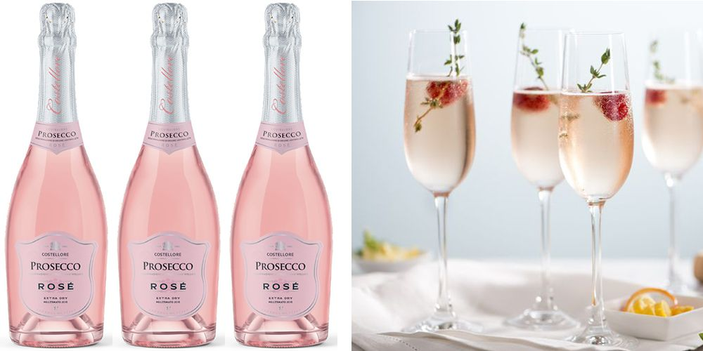 Pink Prosecco Is Being Sold At Aldi