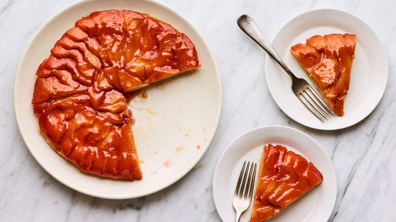 Pour a Whole Bottle of Wine Into This Quince Tart