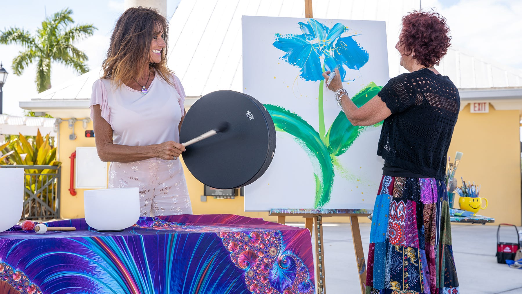 New festival in Port St. Lucie combines benefits of art and mindfulness to improve life