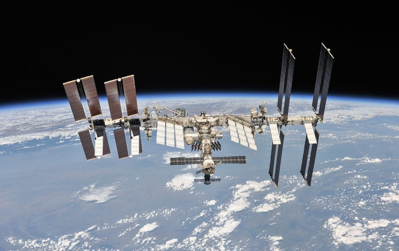 The International Space Station Is Doomed to Die by Fire