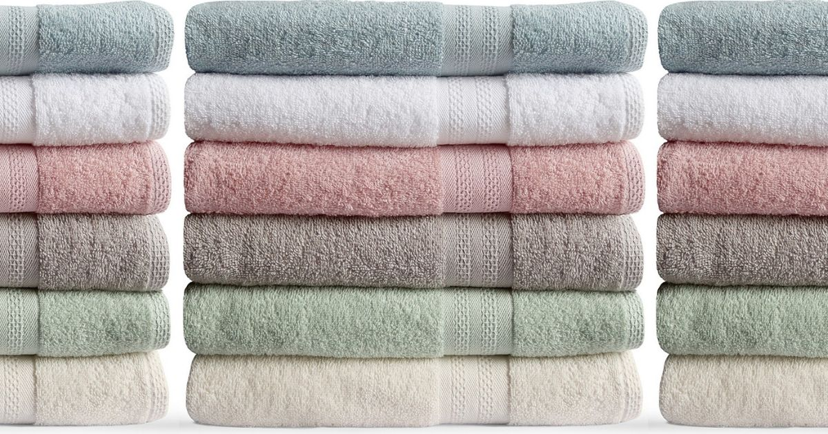 Bath Towels Only $2.24 on Macy's.com (Regularly $14)