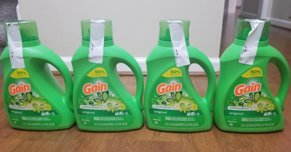 $58 Worth Of Gain Laundry Care Products Just $28 Shipped on Amazon