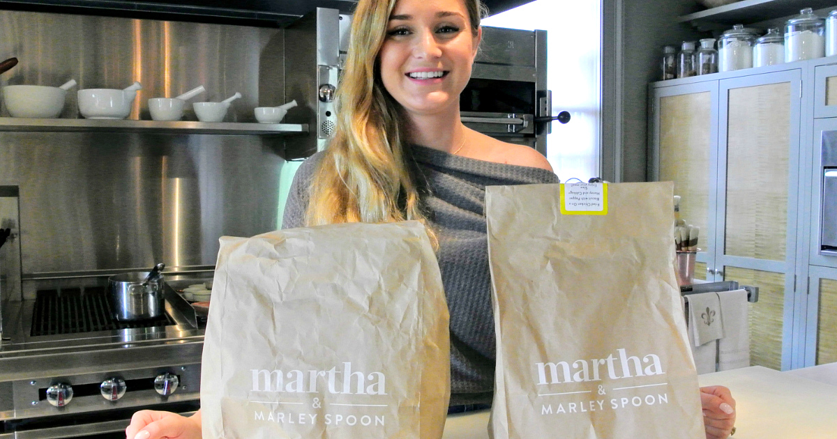 Hate Meal Planning? Get Martha & Marley Spoon Meal Kits, & Save $40!