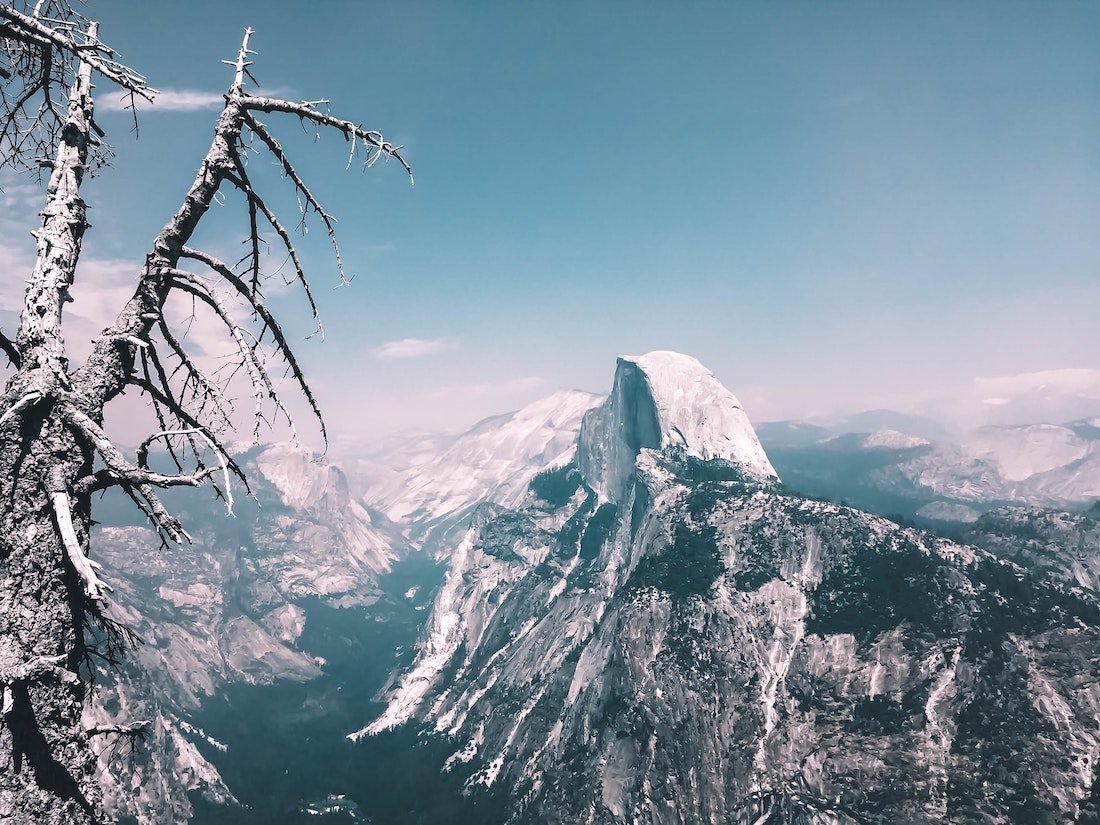 Sketchy: Two Dudes Skied Half Dome to Valley Floor