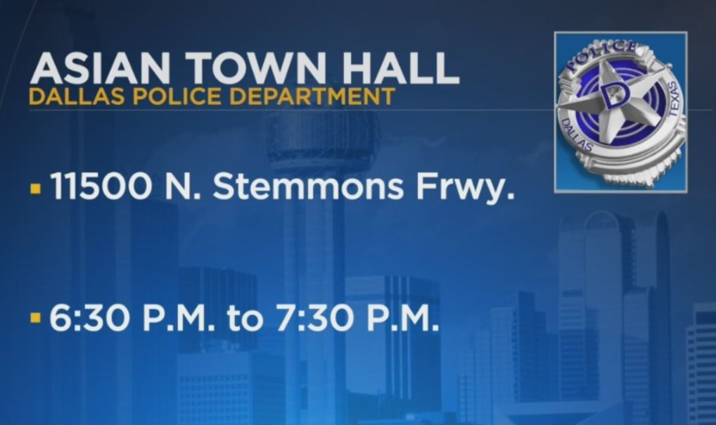 DPD Town Hall Sets Goal To Build Healthy Relationships With The Asian American Community