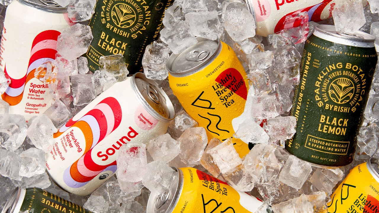 5 Sparkling Teas to Sip on Your Porch This Summer