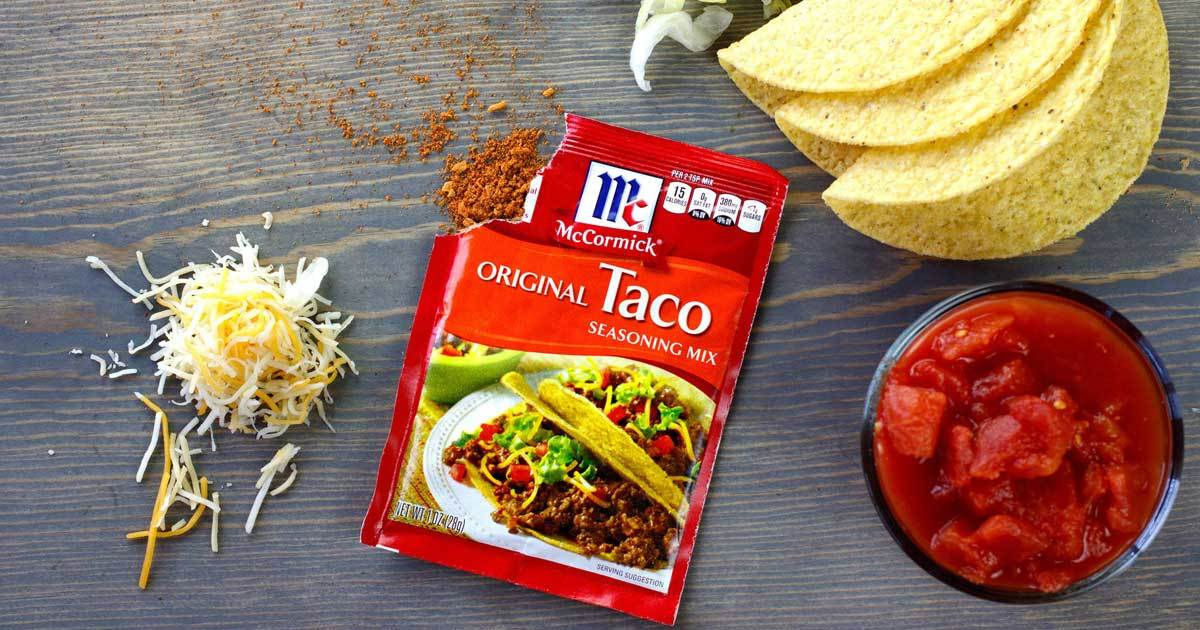 Taco-bout The Perfect Job! McCormick Will Pay You $100,000 to Taste Test Tacos