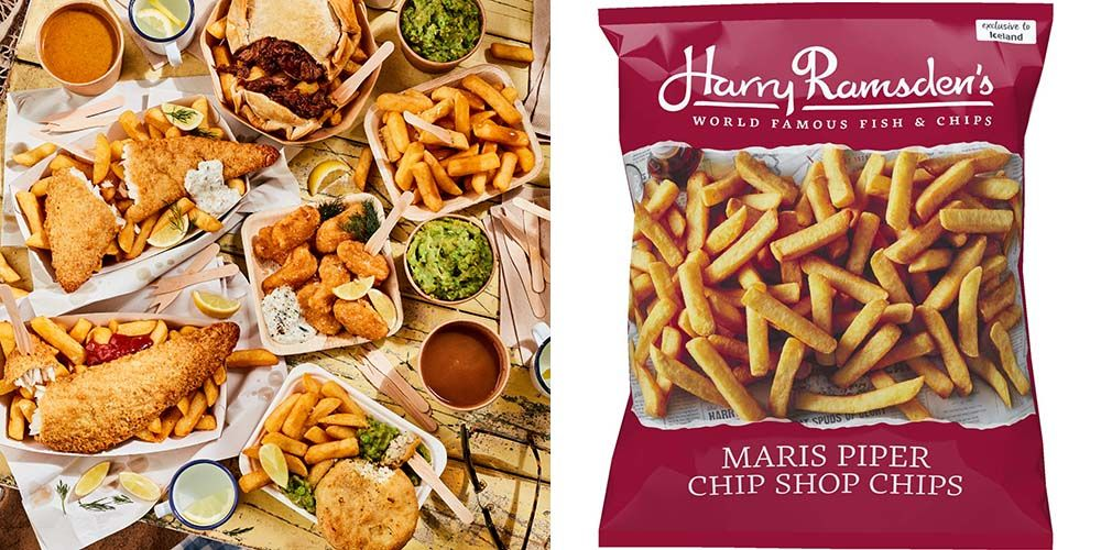 Harry Ramsden's Fish And Chips Are On Sale In Iceland