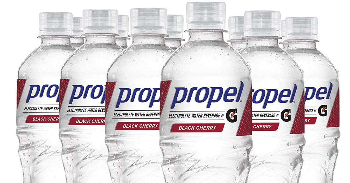 Propel Zero Calorie Water w/ Electrolytes & Vitamins 12-Pack Only $6.38 Shipped on Amazon
