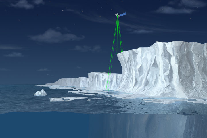 Taking a Measure of Sea Level Rise: Ice Height