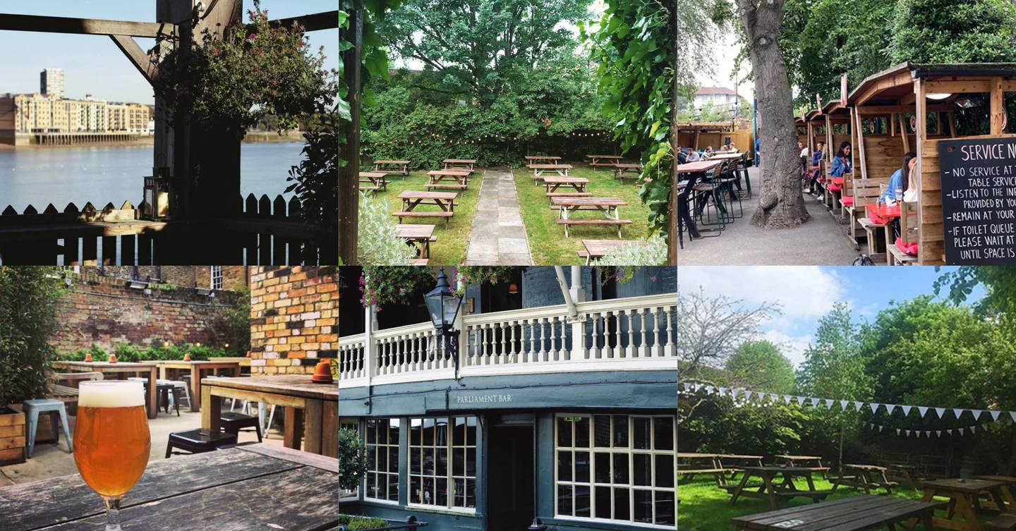 22 of the best beer gardens in London right now