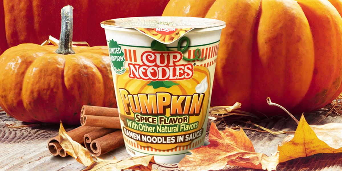 Cup Noodles Has Created A Pumpkin Spice Flavor, Because Fall Knows No Bounds