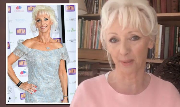 Debbie McGee gives update on weight loss journey after putting on half a stone in lockdown