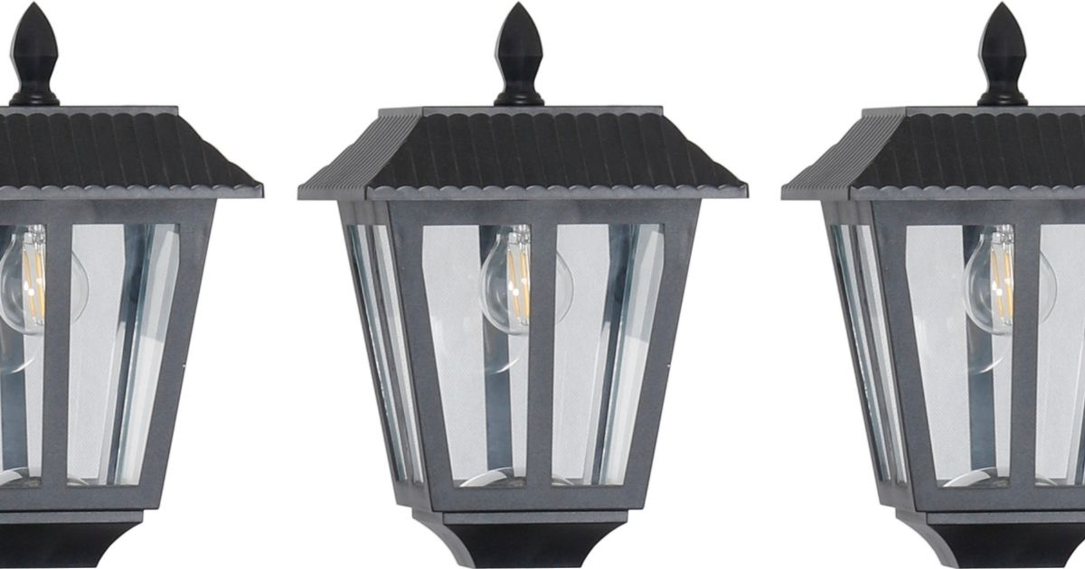 Westinghouse LED Outdoor Solar Post Lamp 2-Pack Only $33 on Lowes.com (Regularly $42)