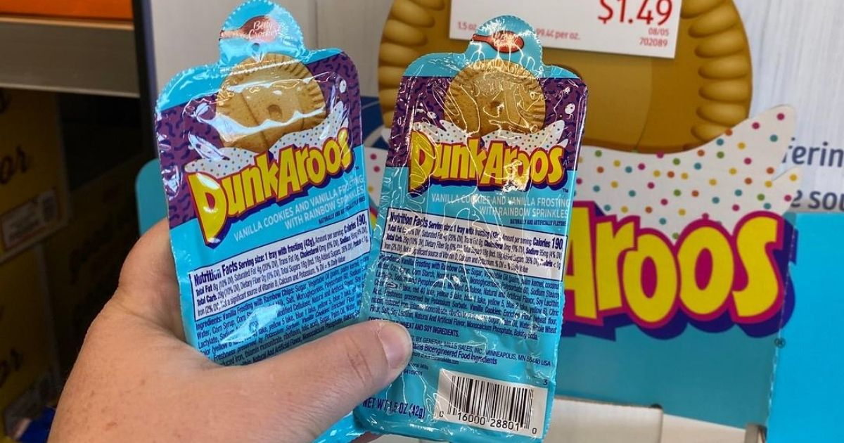 Dunkaroos Cookies & Frosting Packs 6-Count Just $6.63 Shipped on Amazon