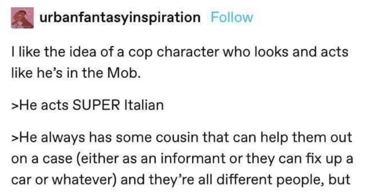 Tumblr Users Come up With a Hilarious TV Show Concept About a Super Wholesome Cop