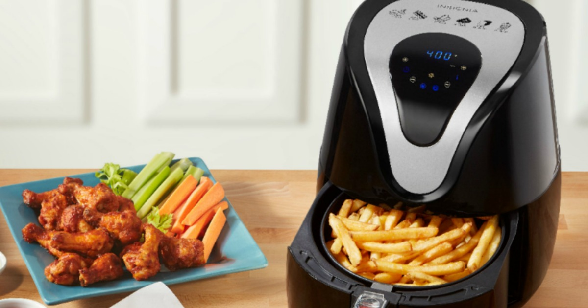 Insignia 3.4-Quart Air Fryer Only $29.99 on BestBuy.com (Regularly $100)