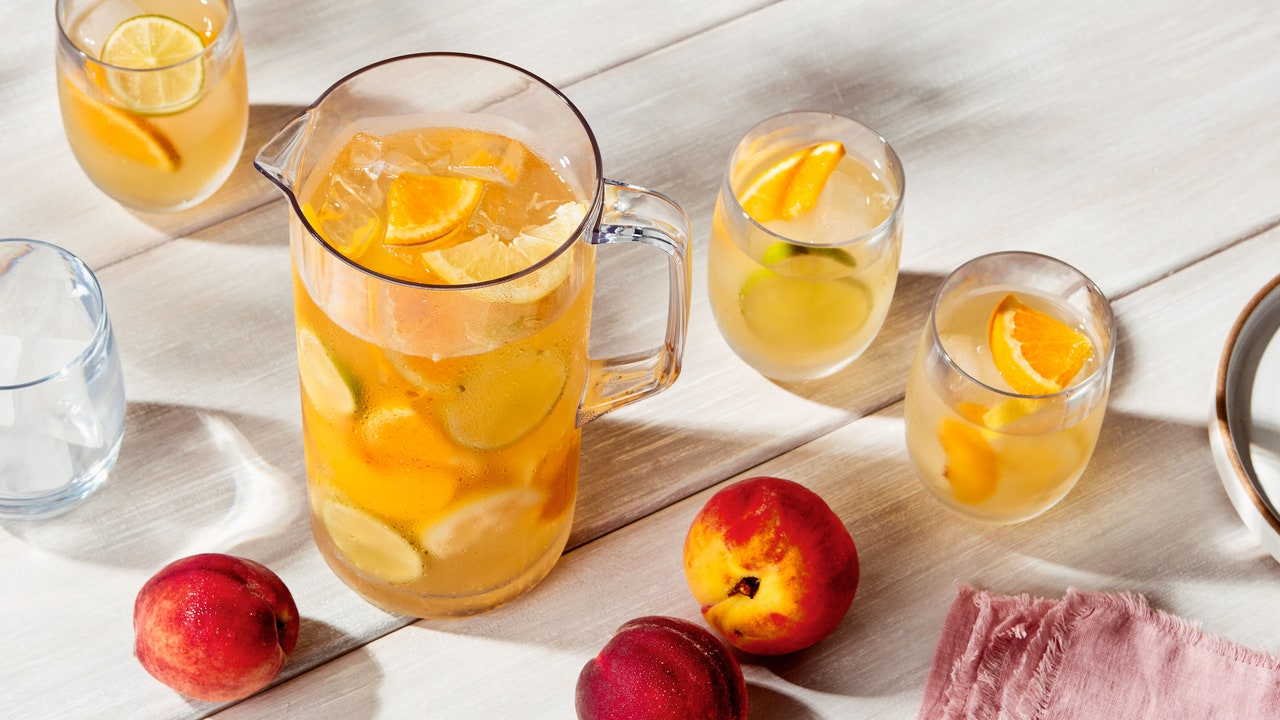 6 Outdoor Water Pitchers for Staying Hydrated This Patio Season