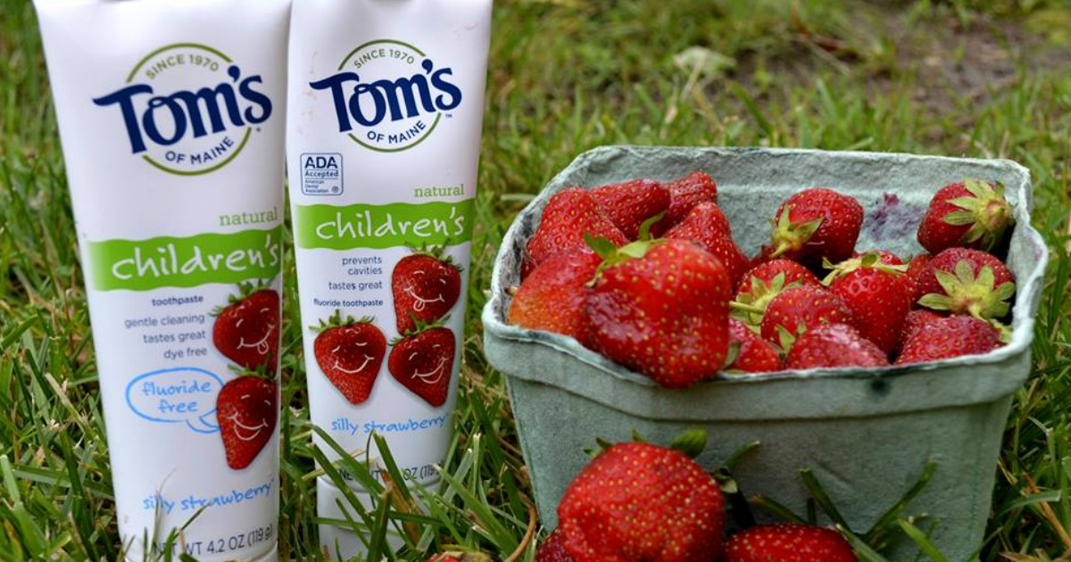 Tom's of Maine Kids Toothpaste Only $1.33 Each After Cash Back & Walgreens Rewards (Regularly $5)