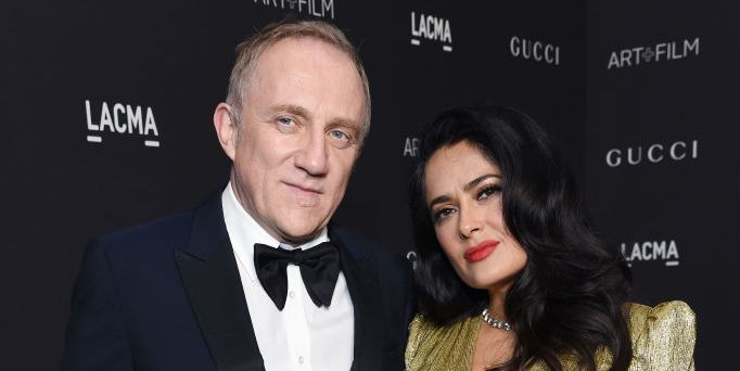 Salma Hayek Shuts Down Claims She Married Her Husband, François-Henri Pinault, For Money