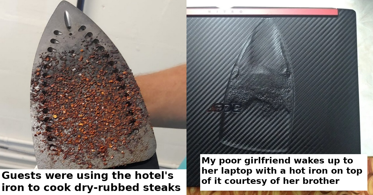 26 Of The Worst Ironing Fails That We So Bad People Had To Share Them
