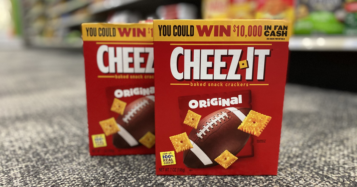 New Cheez-Its Coupon = Deals at CVS & Target + 14 Free Days of Xbox Game Pass