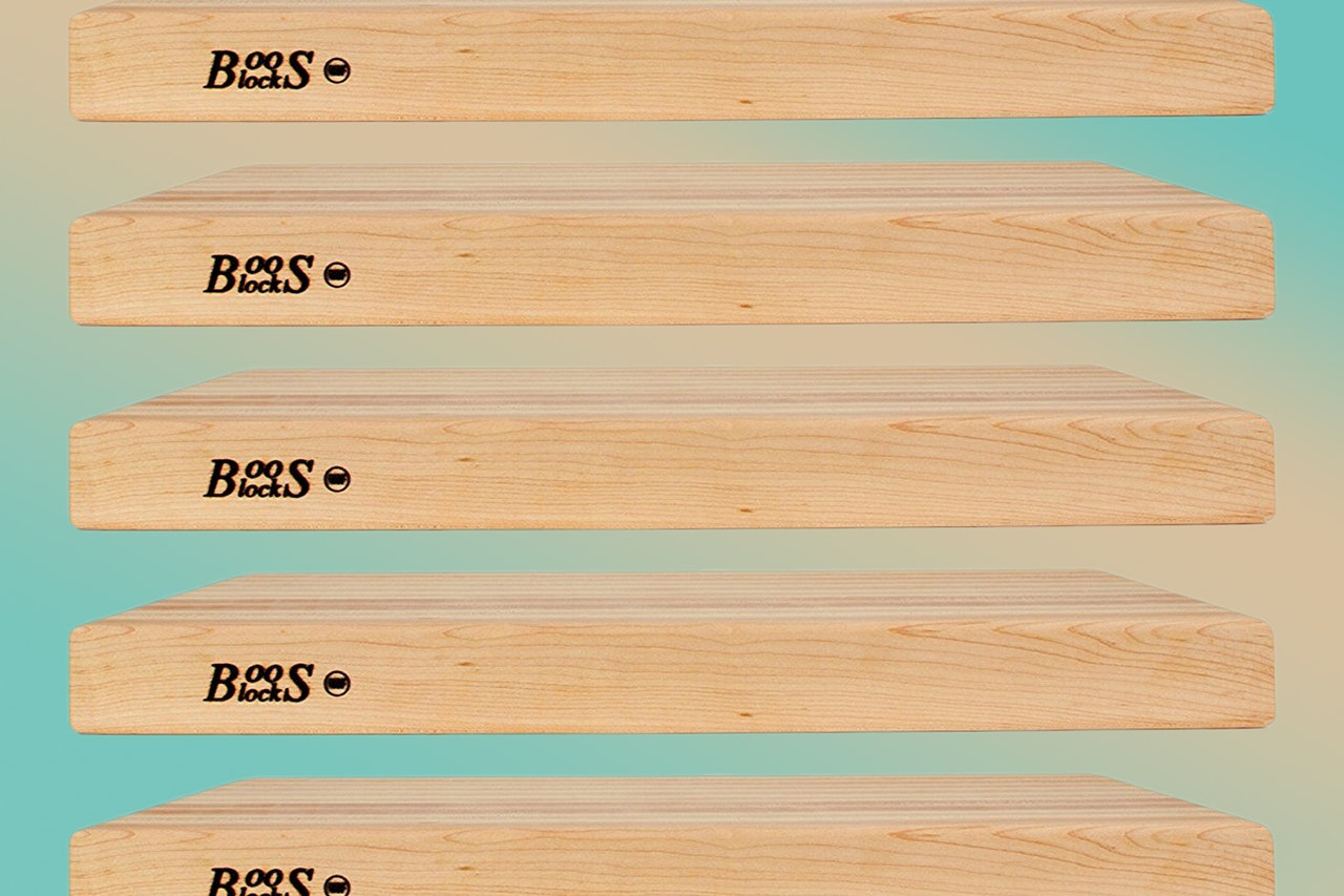 Score a Deal on Our Favorite Boos Block Cutting Boards This Weekend