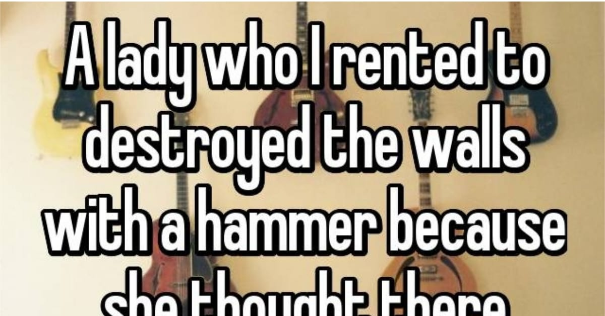 13 Weird Things Landlords Didn't Expect to Find